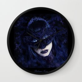 Paloma Nera Wall Clock