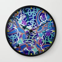 celtic Wall Clocks featuring Celtic Knot by Abundance