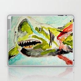 Shark Week - Attacked and bleeding Laptop & iPad Skin