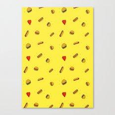 Fast Food Friday Canvas Print