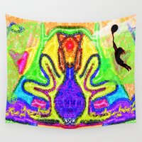 balloon Wall Tapestries featuring Balloon by Design4u Studio