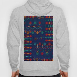 -A17- Anthropologie Moroccan Blue Artwork. Hoody