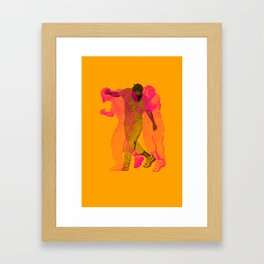 Like No One's Watching Framed Art Print