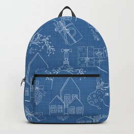Gift of Giving - blue Backpack