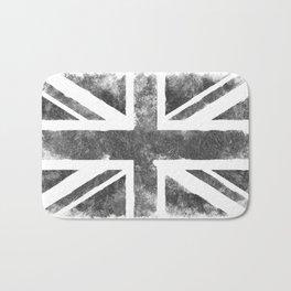 Grey UK Flag Bath Mat