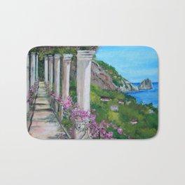 Capri, italy Bath Mat