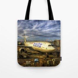 Iran Air Airbus A330 Art Tote Bag