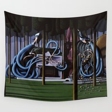 The Gateway to Her Wall Tapestry