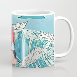 Walrus and the paper boats Coffee Mug
