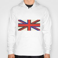 uk Hoodies featuring UK  by Akehworks