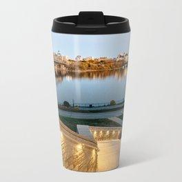 Sunset on Ottawa Metal Travel Mug