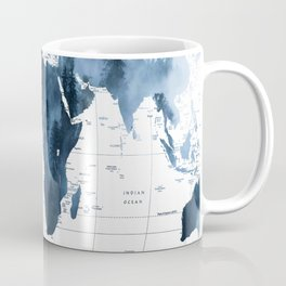 ALLOVER THE WORLD-Woods fog map Coffee Mug