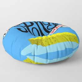 Like a Sponge I Soaked Floor Pillow