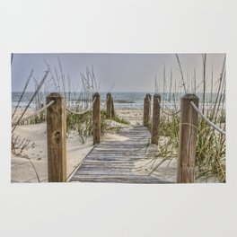 Walkway to Beach Rug
