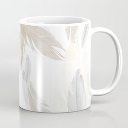 Feather Dream Pattern #3 #boho #decor #art #society6 Coffee Mug