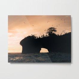 Coastal Views Metal Print
