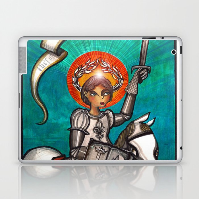 Joan of Arc Laptop & iPad Skin