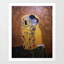Copy of The Kiss - Klimt Art Print