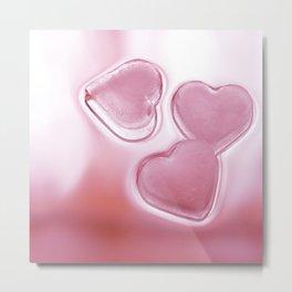 Hearts of three Metal Print