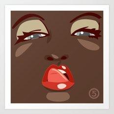 Lick Art Print