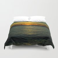 serenity Duvet Covers featuring Serenity by Faded  Photos