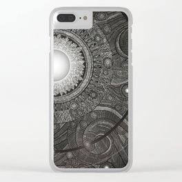 Luna Kiss Clear iPhone Case