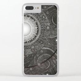 Luna Kiss Clear iPhone Case