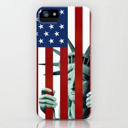 America's self-imprisonment iPhone Case