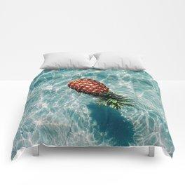 Ah, Summer: Pineapple Comforters