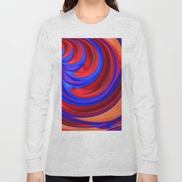 Beautiful Abstract Art by Raphael Terra Long Sleeve T-shirt