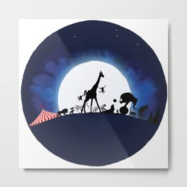 Circus Escape Metal Print