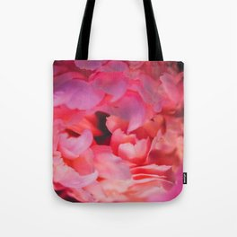 Love and the Peony Tote Bag