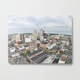 Gloomy Afternoon in Birmingham Metal Print