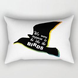 Taken Book Birds Rectangular Pillow