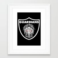 guardians Framed Art Prints featuring Guardians  by Buby87