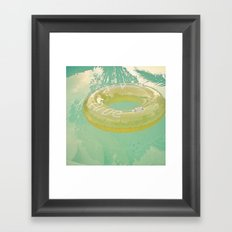 Inviting Framed Art Print