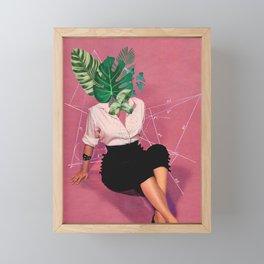 I leaf you Framed Mini Art Print