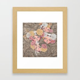 one went missing Framed Art Print