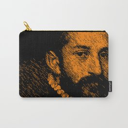 """""""The black knight"""" by Giovanni Battista Moroni Carry-All Pouch"""
