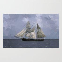Sailing Ship Rug