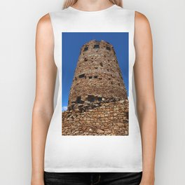 Desert View Watchtower - South Rim Grand Canyon Biker Tank