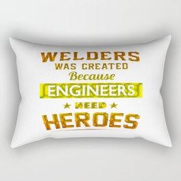 Welder Rectangular Pillow