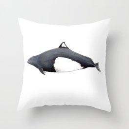 Dall´s porpoise Throw Pillow