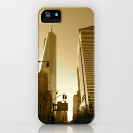 The Freedom Tower iPhone Case