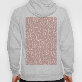faces / pink Hoody