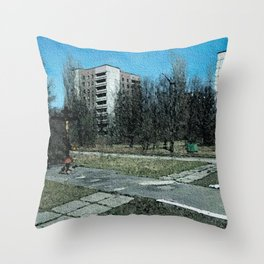 CHERNOBYL - 9 Throw Pillow