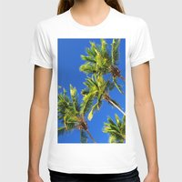 coconut wishes T-shirts featuring Coconut Peaks by Tom Lee