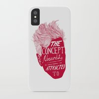 lynch iPhone & iPod Cases featuring David Lynch by Daniel Grushecky