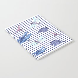 Dragonfly stripes Notebook