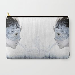 Breath of Winter Carry-All Pouch